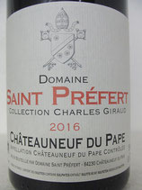 2016 Domaine Saint Préfert Collection Charles Giraud Châteauneuf-du-Pape AOC