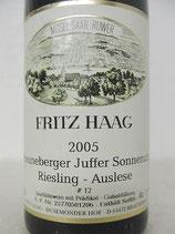 2005 Brauneberger Juffer Sonnenuhr Riesling Auslese #12 fruchtsüß
