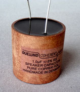Duelund Speaker Capacitor 1uf RS - Pure copper Foil - 100V