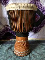 ジェンべ(ギニア製・ケース付き)