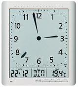 Horloge murale digitale à aiguilles