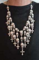 Skull- Damenhalskette
