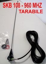 SKB 108-960 ANTENNA SIRIO VEICOLARE TARABILE DA 108 A 960 MHZ VHF-UHF