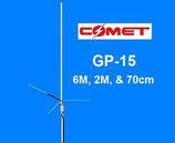 GP-15N COMET ANTENNA BASE VHF UHF + 50 MHZ  ALTO GUADAGNO