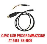 CAVO USB DI PROGRAMMAZIONE PER AT-5555 ANYTONE e SS-6900 CRT