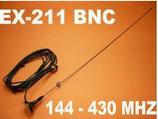 EX-211 UV BNC antenna magnetica