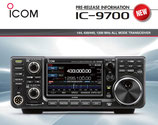 IC-9700 ICOM RICETRASMETTITORE ALL MODE VHF UHF SHF