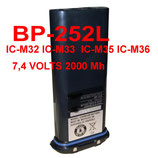 BP-252 L Batteria litio per Ic-M31 Ic-M33 icom ALTA CAPACITA