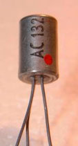 AC-132 transistor germanio