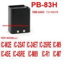 BP-83H BATTERIA COMPATIBILE ICOM SERIE VECCHI MODELLI