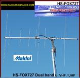 MA-FX727-N MALDOL  ANTENNA DIRETTIVA 144 - 430 MHZ