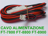 CAVO ALIMENTAZI​ONE 2 PIN x FT-7800 / FT-8800 / FT-8900