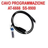 CAVO USB DI PROGRAMMAZIONE PER AT-6666 ANYTONE e SS-9900 CRT