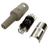 Din 7  pin connettore segnale ACC. ICOM KENWOOD ORIGINALE  ( MAS70-S)