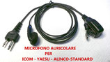 JD-1301C SARI  MICROFONO AURICOLARE CONSUPPORTO ORECCHIO