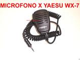 PJD-3604-VX7 MICROFONO PARLA ASCOLTA PER YAESU WX-7