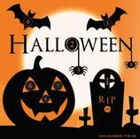Scheibenauflage Halloween - Slyny beschichtet