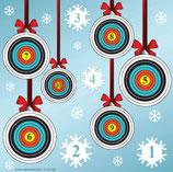 Scheibenauflage Weihnachten - Slyny beschichtet