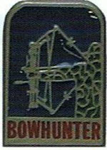 "Pin ""Bowhunter - Comp."" BF"