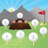 Scheibenauflage Golf - Slyny beschichtet
