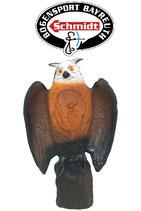 Wildlife - Eule auf Stamm