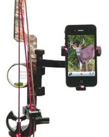 Smartphonehalterung für Bogen