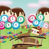 Scheibenauflage Candy - Slyny beschichtet