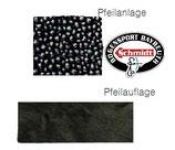 Stingray/Kalbshaar - Pfeilauflage/-anlage