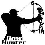 Aufkleber Bowhunter - Schütze BF 10