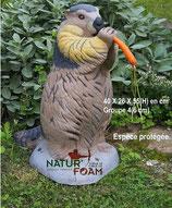 """Natur Foam """"Marmotte"""" Murmeltier"""