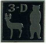 """Pin """" 3 - D"""" BF"""