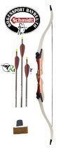 "Recurvebogen-Set Ragim Wildcat ""TakeDown-Hunter"" - 66"", 68"" und 70"""