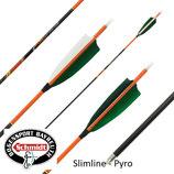 Carbonpfeil Sphere Slimline / Pyro / Magneto / Slim Pro green - 6 Stück!