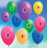 Scheibenauflage Ballons - Slyny beschichtet