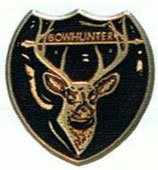 "Pin ""Deer - Bowhunter"" BF"