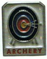 "Pin ""Archery - Target"" BF"