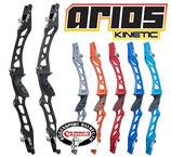 """Recurve Mittelstück Kinetic Arios II - 25""""  Wooden Grip"""