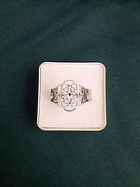 """Ring """"Blume des Lebens"""" Edelstahl Ø 15 mm Gr. L"""