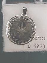 """Anhänger """"Symbolik der Windrose"""" Edelstahl Ø 35mm"""
