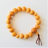 Bracelet mixte en noyer japonais (Kaya)