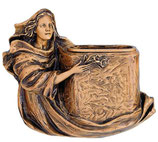 Vase et image - Bronze