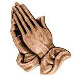 Main droite - Bronze