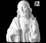 Coeur de Jésus - Argenté