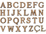 Alphabet : 20 cm