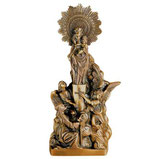 Vierge du pilier - Bronze