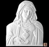 Coeur de Marie - Bronze