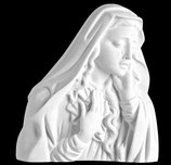 Vierge des douleurs - Marbre