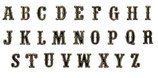 Alphabet : 4 cm