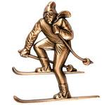 Skieur - Bronze - Ref : 1922