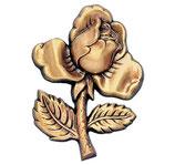 Rose - Bronze - Ref : 1345